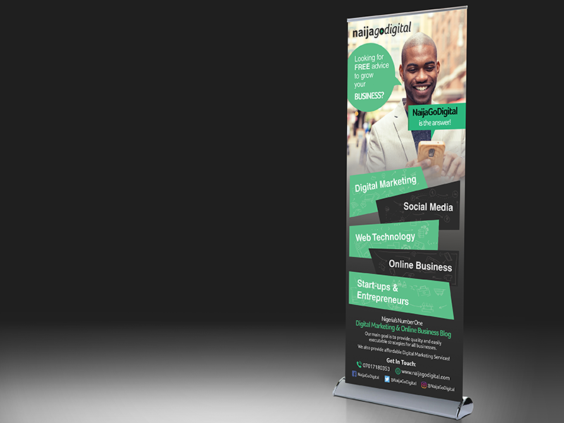 TopYouGo UK - Roller Banner Design Service